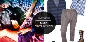 Print Style | Mens Geometrics