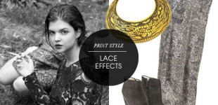 Print Style | Lace Effects