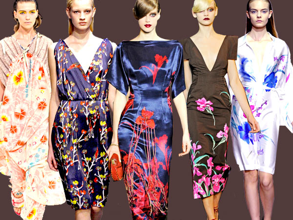 11 Spring Asian Florals Runway Roundup | Spring 11 Trends