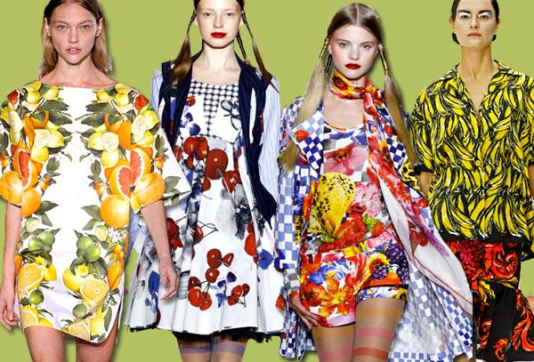 11 Spring Fruit Runway Roundup | Spring 11 Trends