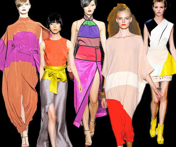11 Spring color blocking Runway Roundup | Spring 11 Trends