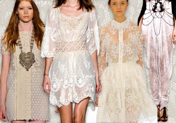 11 Spring lace Runway Roundup | Spring 11 Trends