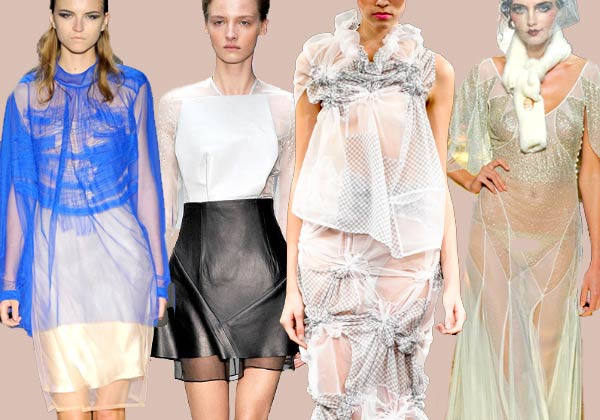 11 Spring sheer2 Runway Roundup | Spring 11 Trends