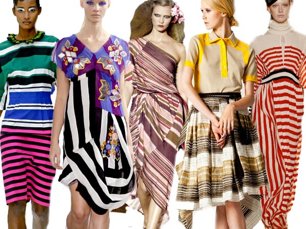 11 Spring stripes Runway Roundup | Spring 11 Trends