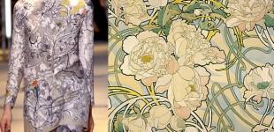 Pattern Pairs | Cacharel + Alphonse Mucha