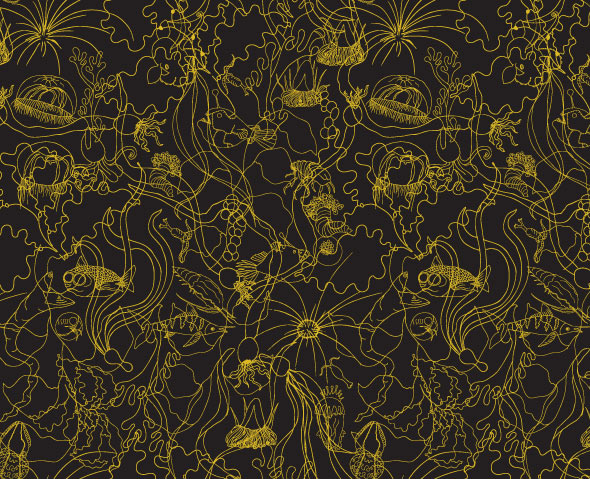 hygge underwater Wallpaper for Hygge & West