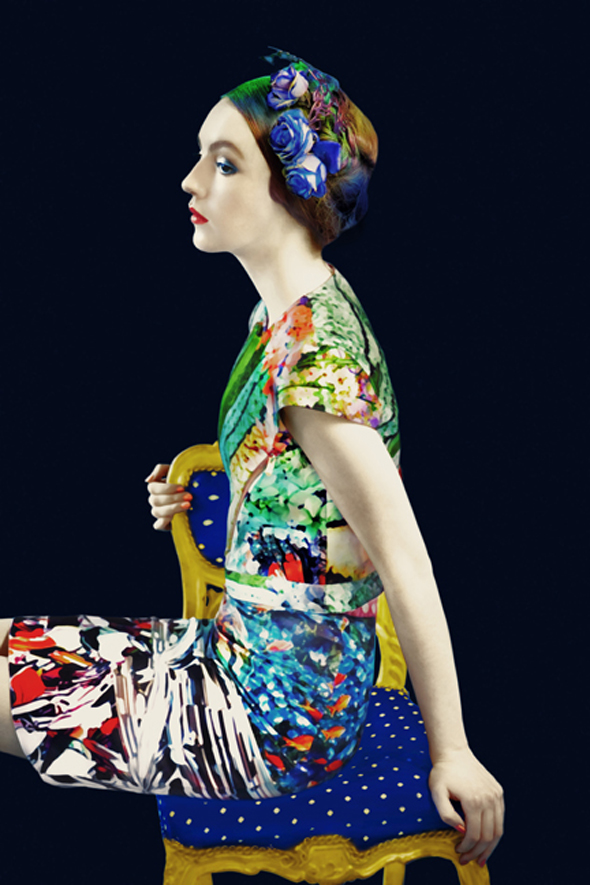 Mary Katrantzou S/S 12 Look Book 7