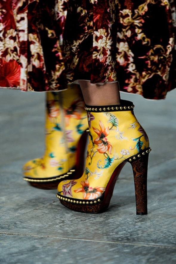 mary katrantzou fall 2011 shoes Digital | Christian Louboutin for Mary Katrantzou