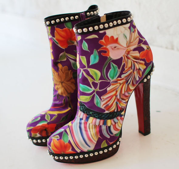 mary katrantzou aw11 shoes1 Digital | Christian Louboutin for Mary Katrantzou