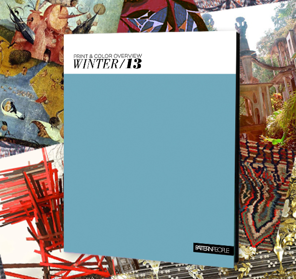 2013 Winter Trend Print & Color Guide