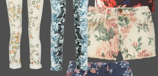 Pattern Report | Floral Denim