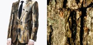 Pattern Pairs | Alexander McQueen x Tree Bark