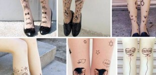 Trend Alert! Tattoo Tights
