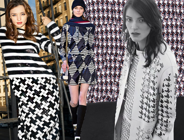 houndstooth Pattern Report | (not so traditional) Houndstooth