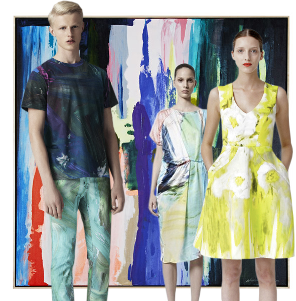 print trend paint strokes Print Trend | Paint Strokes