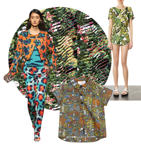 print trends jungle prints Print Trends | Jungle Tropicals