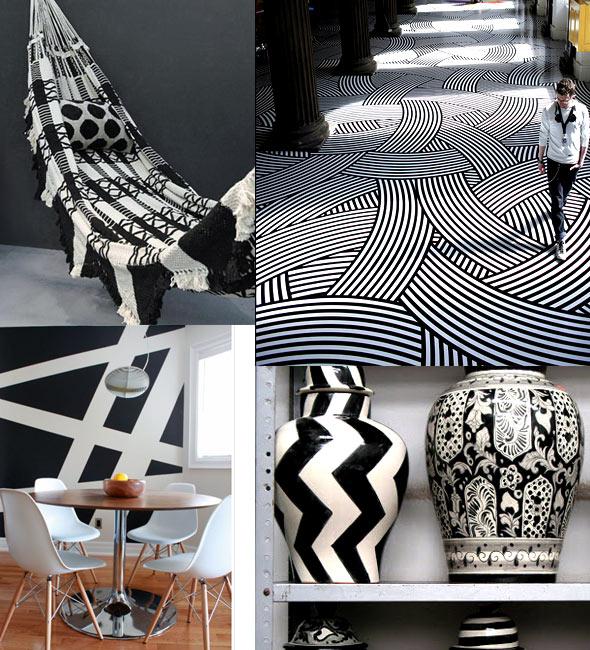 Black White Home1 Interiors Black And White