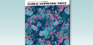 Print Tutorial | Floral Geometric Prints