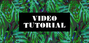 Jungle Leaf Video Tutorial