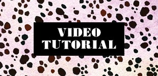 Spots + Texture Vector Video Tutorial