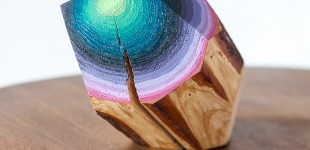 Art | Gemstone Wood
