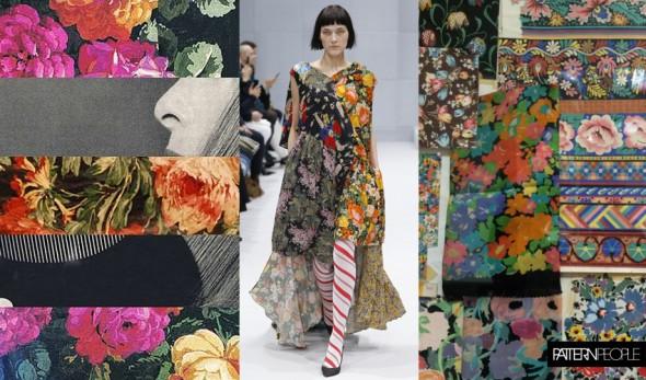 Patchwork Florals Trend | Flickr | Balenciaga | Liberty