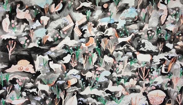 original artwork for Holland Blanket | Hillery Sproatt