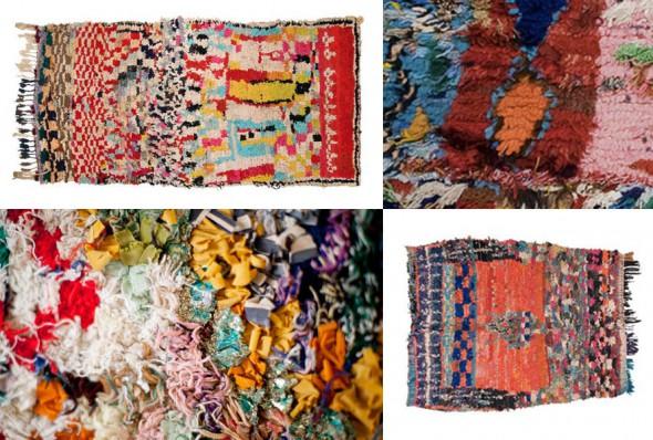 boucherouite rugs via pinterest